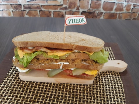 Maja Petrović - sendvič sa duvan čvarcima